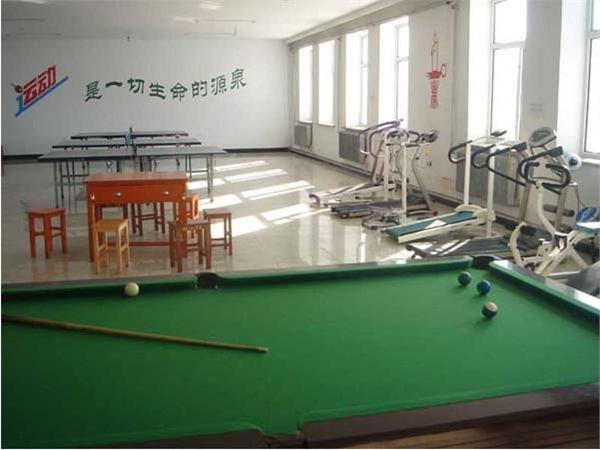 海拉爾第一中學教師活動室