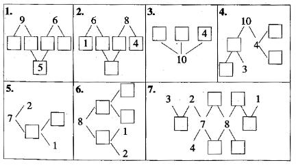 人教版小学一年级数学上册第六单元易错题