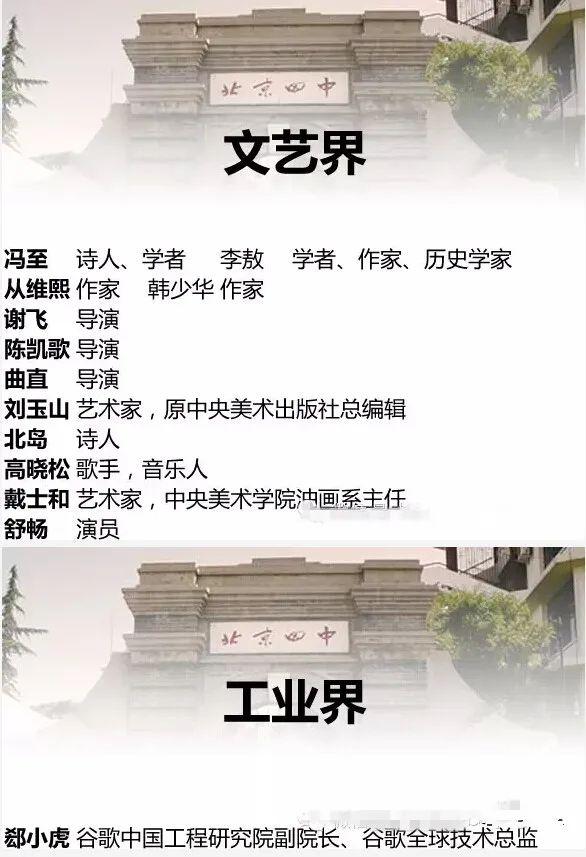 北京四中是什么样的存在?